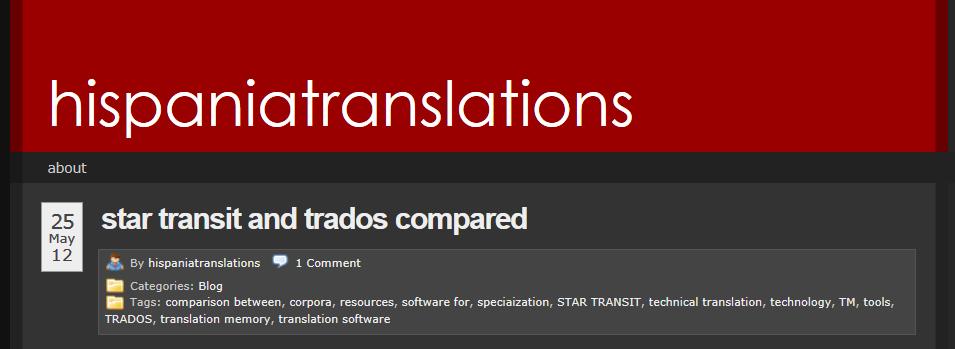 Transit vs Trados