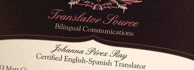 Mi trayectoria como traductora independiente